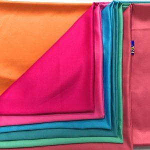 Polyester Valentino Dull Satin Fabric