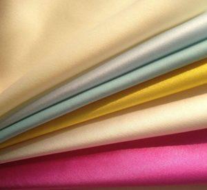 Spandex Dull Stretch Satin Fabric 140 gsm