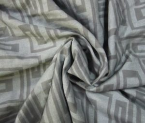Polyester Dull Satin Fabric 100 GSM Transfer Printed