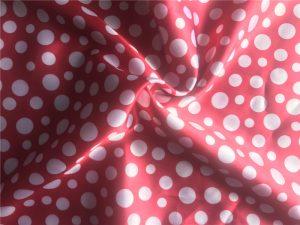 Polyester Satin Fabric Heat Transfer Printed