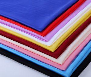 Polyester silk duchess satin fabric