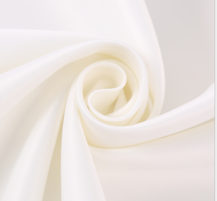 Polyester Dull Satin Fabric 125 gsm