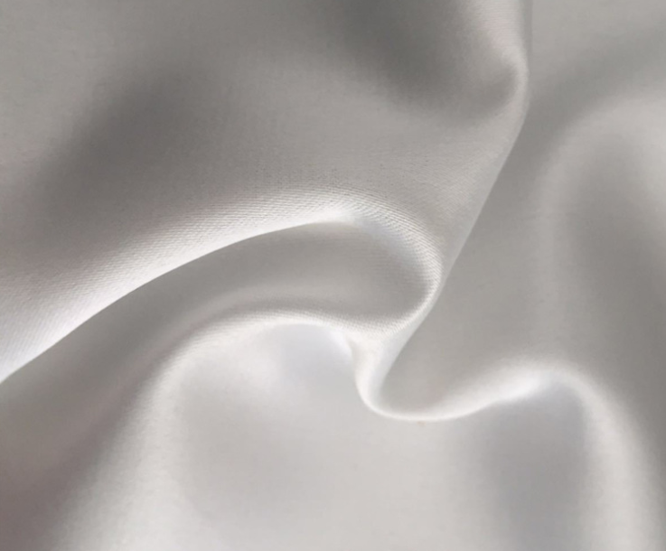 Polyester twisted dull satin fabric 125 gsm