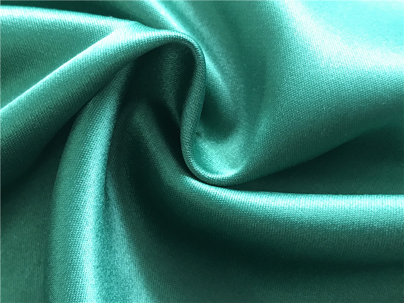 Polyester Spandex Stretch Dull Satin Fabric 215 gsm 1