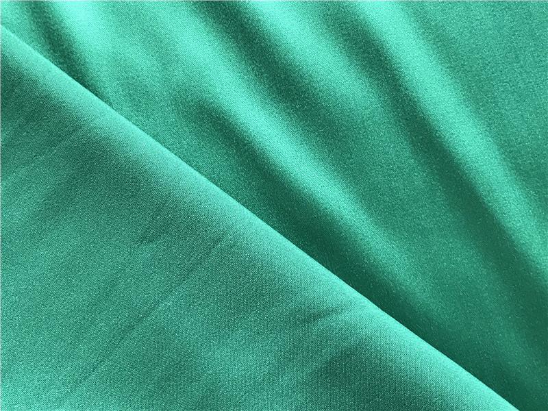 Polyester Spandex Stretch Dull Satin Fabric 215 gsm 2
